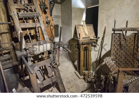 Medieval Torture Equipment