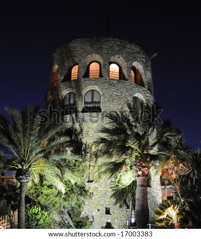 Medieval tower in Marbella
