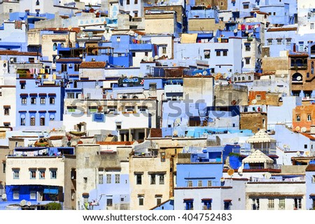 Medina of Chefchaouen, Morocco, Africa