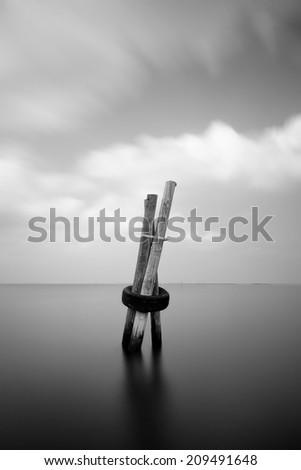 Meditating  - stock photo