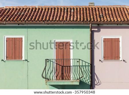Mediterranean house in Caorle, Italy