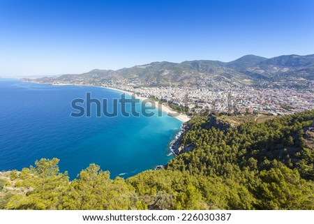 Mediterranean Sea - Beach in Alanya