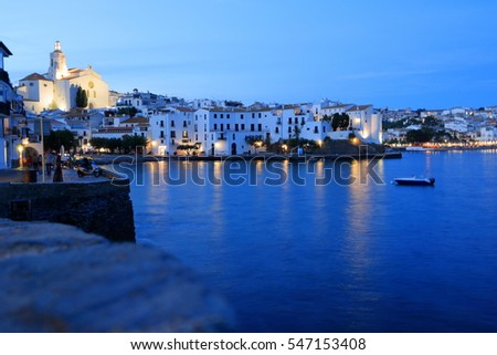 Mediterranean village of Cadaques, Spain