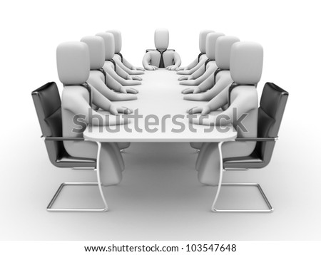 Meeting - stock photo