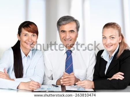 Meeting. Meeting - stock photo
