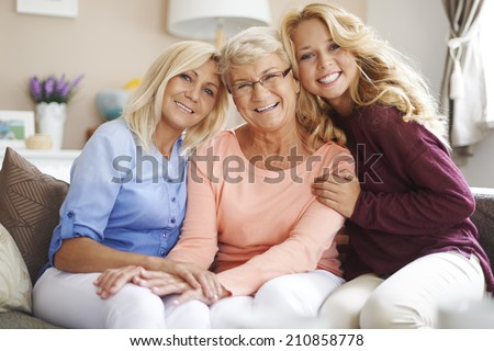 Meeting with the close family is very important for them   - stock photo