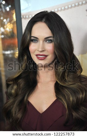 "Megan Fox at the world premiere of her new movie ""This Is 40"" at Grauman's Chinese Theatre, Hollywood. December 12, 2012  Los Angeles, CA Picture: Paul Smith"