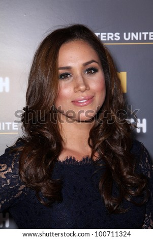 "Meghan Markle at USA Network and Moth present ""A More Perfect Union: Sories of Prejudice and Power,""  Pacific Design Center, Los Angeles, CA 02-15-12"