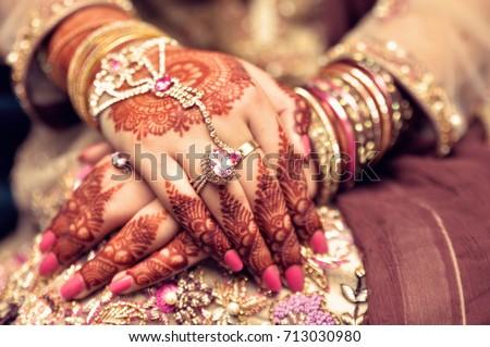 Mehndi Hands : Mehndi hands stock photo image royalty free