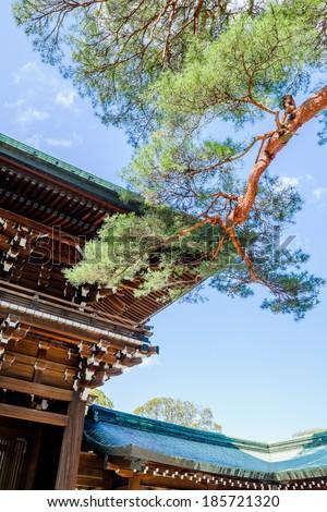 Meiji Jingu - stock photo