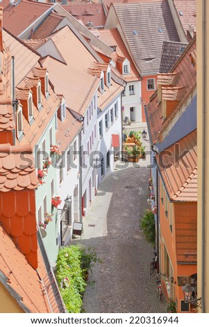 Meissen - Germany - City of porcelain - stock photo