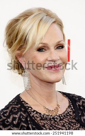 Melanie Griffith at the 40th AFI Life Achievement Award Honoring Shirley MacLaine held at the Sony Studios in Los Angeles, United States, 070612.  - stock photo