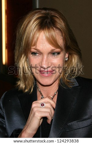 "Melanie Griffith at the tribute show ""Hollywood Salutes June Allyson"". The El Portal Theatre, Los Angeles, California. November 2, 2006."