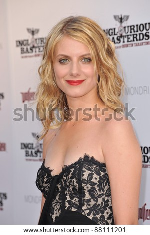 "Melanie Laurent at the Los Angeles premiere of her new movie ""Inglourious Basterds"" at the Grauman's Chinese Theatre, Hollywood. August 10, 2009  Los Angeles, CA Picture: Paul Smith / Featureflash"