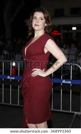 """Melanie Lynskey at the Los Angeles Premiere of """"Up In The Air"""" held at the Mann Village Theater in Westwood, California, United States on November 30, 2009.   - stock photo"""