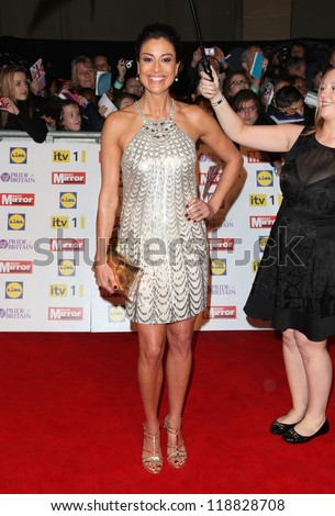 Melanie Sykes arriving for the 2012 Pride of Britain Awards, at the Grosvenor House Hotel, London. 29/10/2012 Picture by: Alexandra Glen