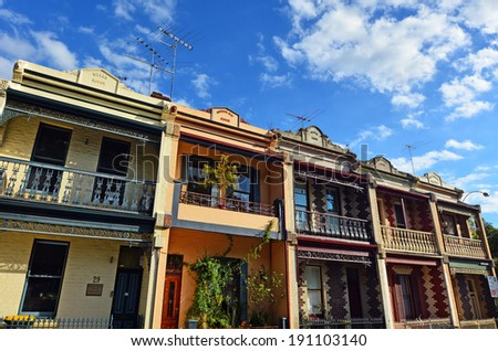 Double storey stock images royalty free images vectors for Double storey victorian homes