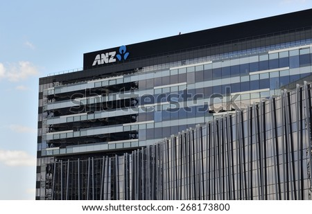 anz melbourne office. melbourne australia march 4 2015 anz bank headquarters in docklands on the anz melbourne office