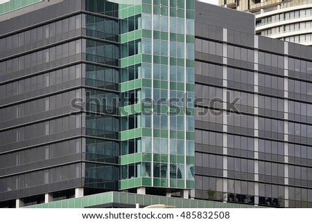 Blue Texture Glass Building Night Stock Photo Shutterstock
