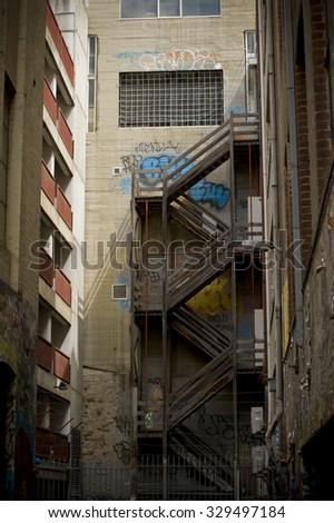 Melbourne Hosier Lane - stock photo