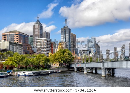 Melbourne, VIC, Australia on 23rd Jan 2016:Victoria University is a public university based in Melbourne It is a dual-sector tertiary institution providing courses in both higher education and TAFE - stock photo