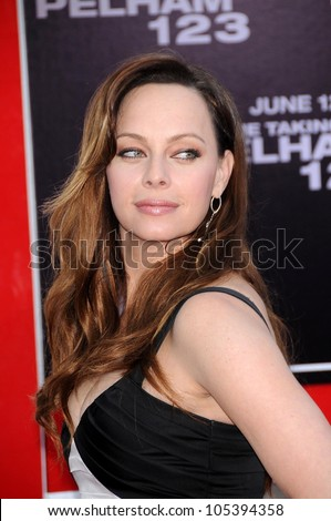Melinda Clarke  at the Los Angeles Premiere of 'The Taking of Pelham 123'. Mann Village Theatre, Westwood, CA. 06-04-09