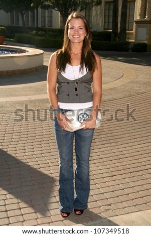Melissa Claire Egan  at the Premiere Screening of 'Sons of Anarchy'. Paramount Theater, Hollywood, CA. 08-24-08 - stock photo
