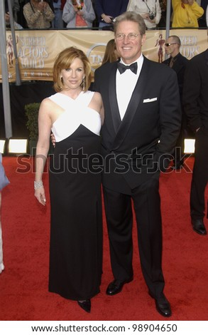 MELISSA GILBERT & husband BRUCE BOXLEITNER at the 10th ...
