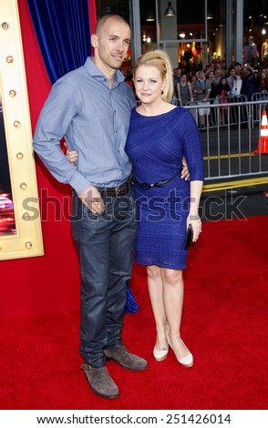 "Melissa Joan Hart and Mark Wilkerson at the Los Angeles Premiere of ""The Incredible Burt Wonderstone"" held at the TCL Chinese Theater in Hollywood, California, United States on March 11, 2013."