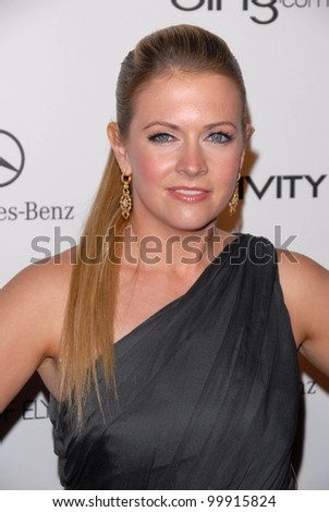 "Melissa Joan Hart  at the 2011 Art Of Elysium ""Heaven"" Gala, Annenberg Bldg., California Science Center, Los Angeles, CA. 01-15-11 - stock photo"