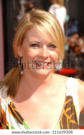 """Melissa Joan Hart at the premiere of """"Harry Potter and The Order of The Phoenix"""". Grauman's Chinese Theatre, Hollywood, CA. 07-08-07 - stock photo"""