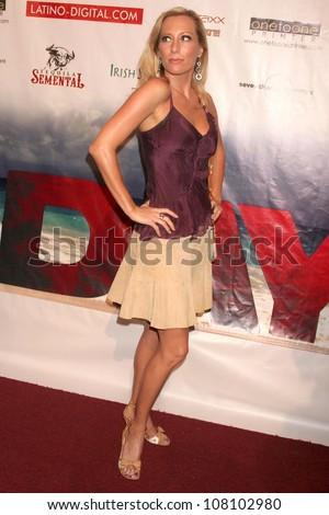 "Melissa Mojo Hunter  at the world premiere screening of ""No Bad Days"". Egyptian Theatre, Hollywood, CA. 07-08-08 - stock photo"