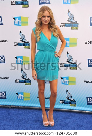 Melissa Ordway at the 2012 Do Something Awards at Barker Hangar. Santa Monica Airport. August 19, 2012  Santa Monica, CA Picture: Paul Smith - stock photo