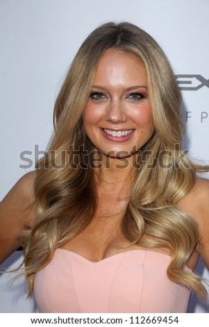 """Melissa Ordway at the """"Lawless"""" Los Angeles Premiere, Arclight, Hollywood, CA 08-22-12 - stock photo"""