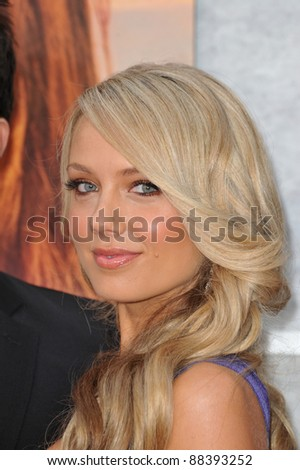 "Melissa Ordway at the world premiere of her new movie ""The Last Song"" at the Arclight Theatre, Hollywood. March 25, 2010  Los Angeles, CA Picture: Paul Smith / Featureflash"