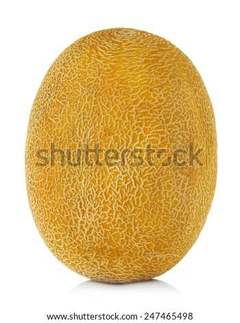 Melon isolated on white background - stock photo