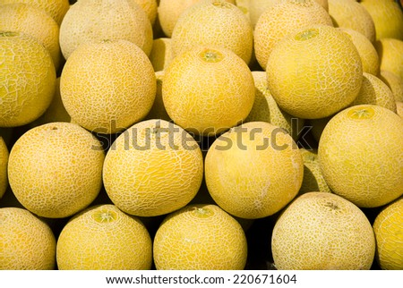 melons - stock photo