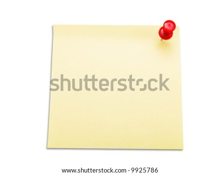 Memo stick with empty space - stock photo