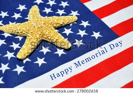 Memorial Day Concept - stock photo