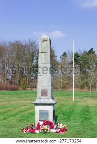 Memorial site. - stock photo