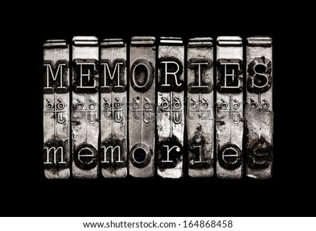Memories or time concept - stock photo