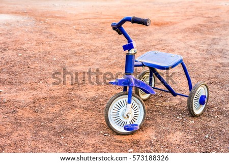 Memory 3 Wheel Bike Stock Photo Royalty Free 573188326 Shutterstock