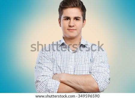 Men. - stock photo