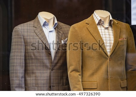 Men casual clothing store