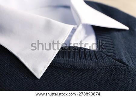 Men elegance clothes, closeup - stock photo