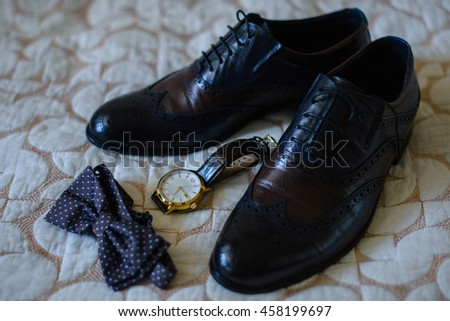 Men's Accessories : Men's butterfly, Men's shoes , men's watches