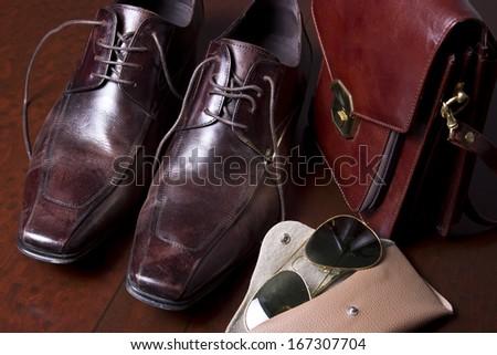 Men's clothing  - stock photo