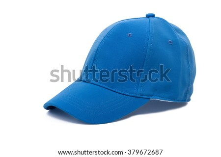 Men's golf blue hat, cap