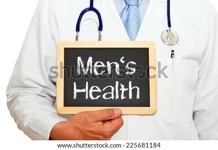 Men's Health - stock photo