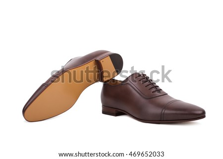 Slim Dusty Lace Up Shoes